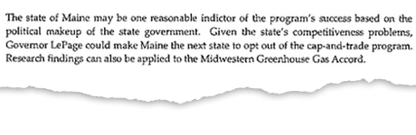 SPN Maine summary extract