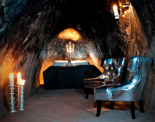 Unusual hotels: Silvermine
