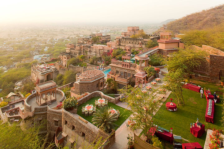 Unusual hotels: Neemrana