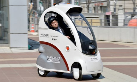 Ropits - Robot for Personal Intelligent Transport