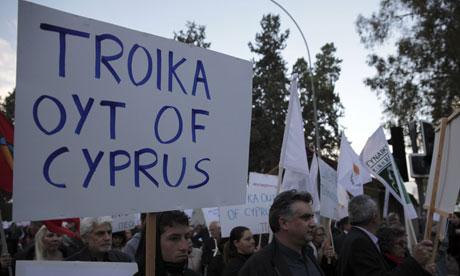 Cyprus protest