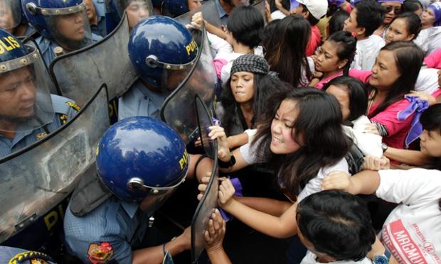 Photos de manifestations du 8 mars à travers le monde (6/6)