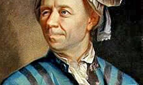 18th century mathematician Leonhard Euler