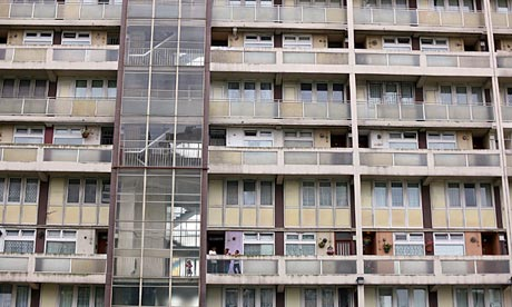 A housing estate in Tower Hamlets, London