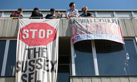 Sussex University protest