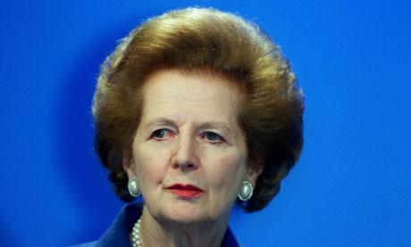 Margaret Thatcher and that hairdo.