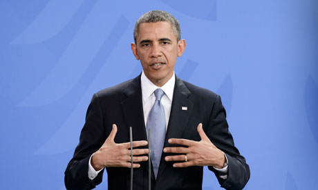 President Barack Obama Visits Berlin