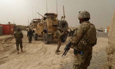 US soldiers in Afghanistan
