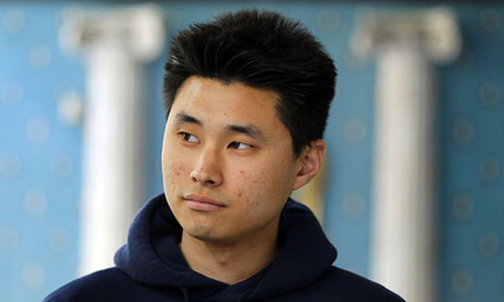 Daniel Chong drank his own urine as he endured four days alone in a police cell