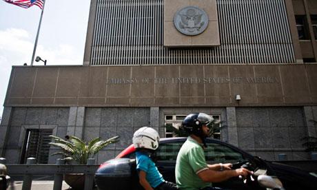 US embassy in Tel Aviv