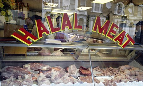 A halal butcher's in London: 'There's a huge market out there waiting to be tapped.'