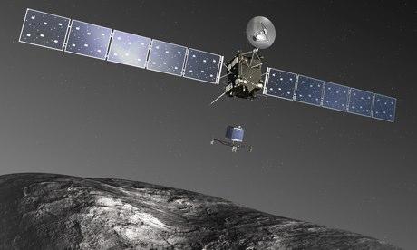 Rosetta deploys Philae spacecraft to land on comet