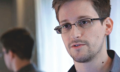 Edward Snowden video still