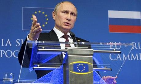Vladimir Putin in Brussels