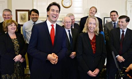 Ed Miliband and Liz McInnes