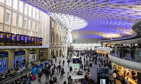 King's Cross railway station in London United Kingdom
