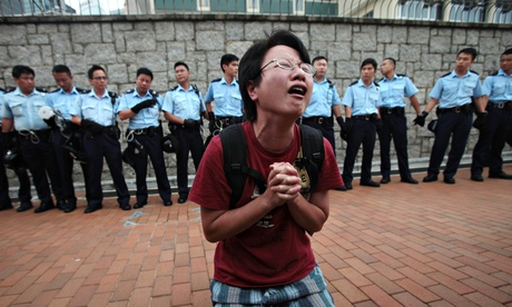 Occupy Central movement protest, Hong Kong, China - 02 Oct 2014