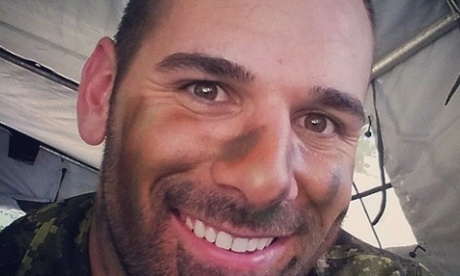 Instagram photo of Nathan Cirillo who was killed in Ottawa while standing guard over the war memorial.