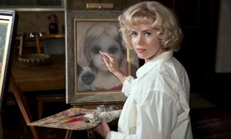 Amy Adam interpreta Margaret Keane no filme de Tim Burton Big Eyes Fotografia:. The Weinstein Company / Allstar / Allstar / The Weinstein Company
