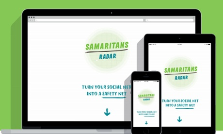 Samaritans Radar is a web app that works across various devices.