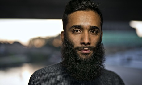 Areeb Ullah with beard