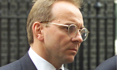 The new chief executive of the civil service, John Manzoni, in 2000.
