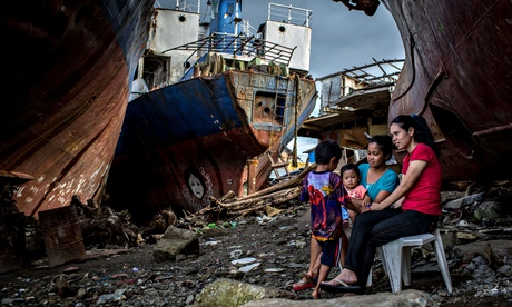 Tacloban's typhoon Haiyan survivors, Philippines