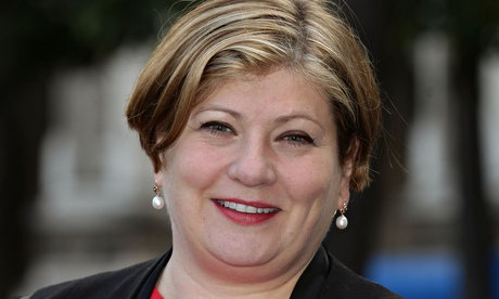 Emily Thornberry: lost her shadow cabinet job over a tweet. Photograph: Yui Mok/PA