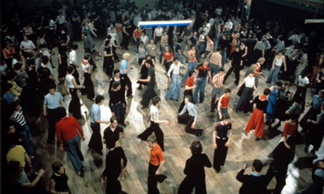 Unselfconscious beauty and energy … Northern Soul dancers.