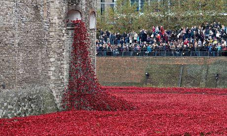 Paul Cummins's installation the Tower of London