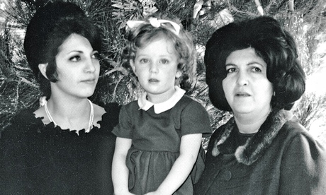 Snapshot ... Karen Babayan with her mother and grandmother at Christmas in Iran in the mid-1960s.