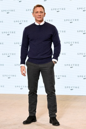 Was Daniel Craig's choice of outfit more about his watch