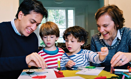 Miliband family Christmas card for 2014