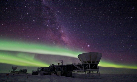 Gravitational waves: Bicep2 at the South Pole