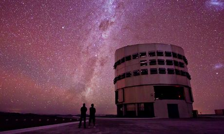 The Milky Way seen from the  Paranal Observatory in Chile.