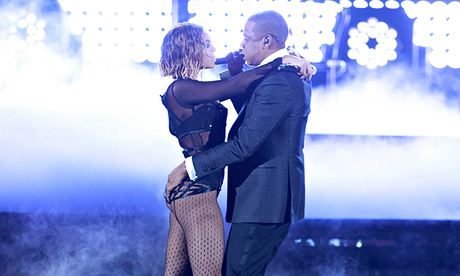 Beyoncé and Jay-Z steamed up the 56th Grammys.