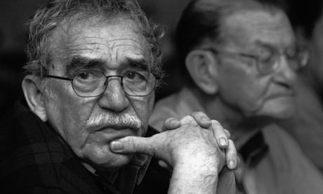 Gabriel García Márquez in Monterrey, Mexico, in 2003.
