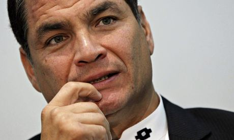 Ecuadorian president demands that indigenous group turn over defamors