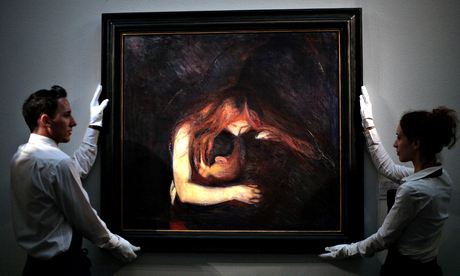 'Vampire' by Edvard Munch