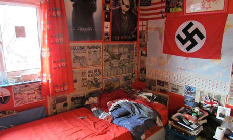 Michael Piggin's Loughborough bedroom