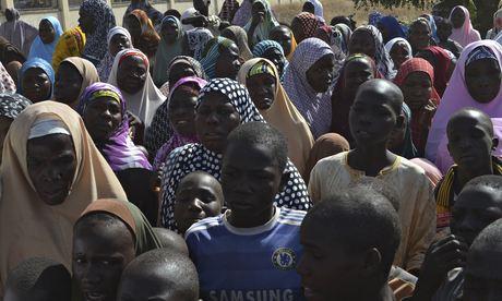 Families of kidnapped schoolgirls