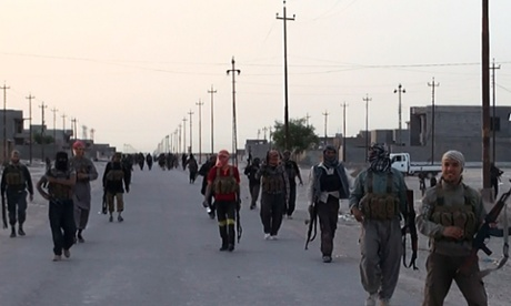 Alleged Isis militants