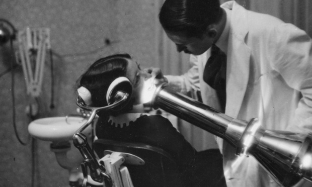 A dentist in Germany, about 1930.