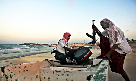 Somali pirates operate in remote waters but their movements are not beyond the reach of satelllites.