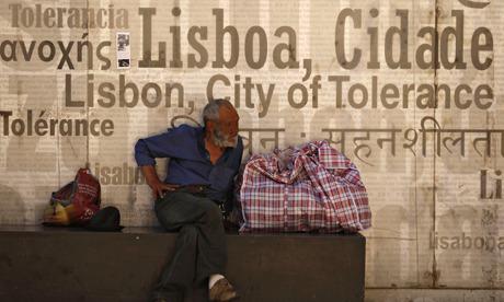 Portugal homeless Lisbon