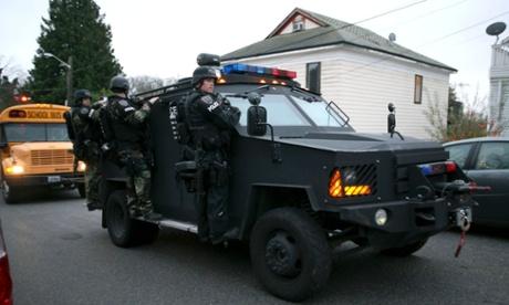 swat team seattle washington maurice clemmons