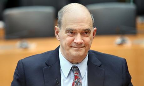 William Binney testifies before a German inquiry into surveillance.