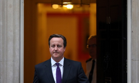 David Cameron is today finishing his government reshuffle.