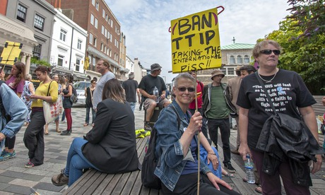 Brighton TTIP demo