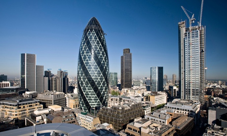 London's Popular 40-storey office building; Gherkin skyscraper for sale